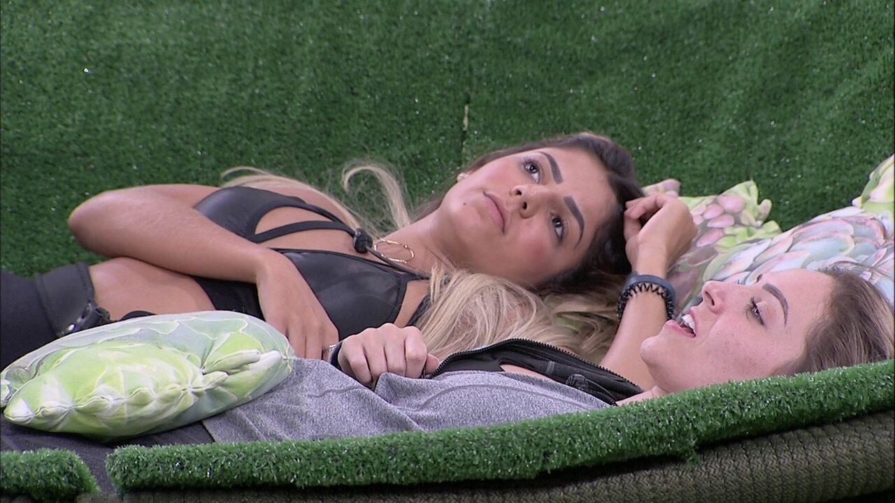 Hariany para Paula: 'Vai vir tudo na nossa cabeça'