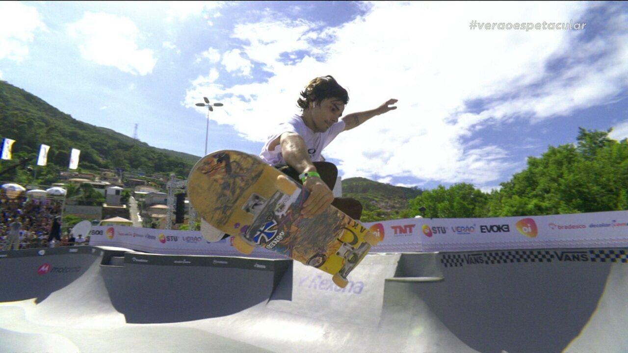 Murilo Peres é campeão da etapa de Florianópolis do Circuito Brasileiro de Skate