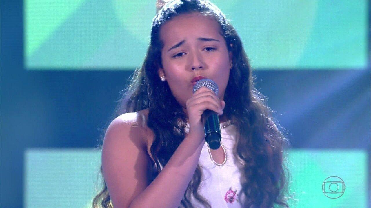 Clara Lima canta 'No One'