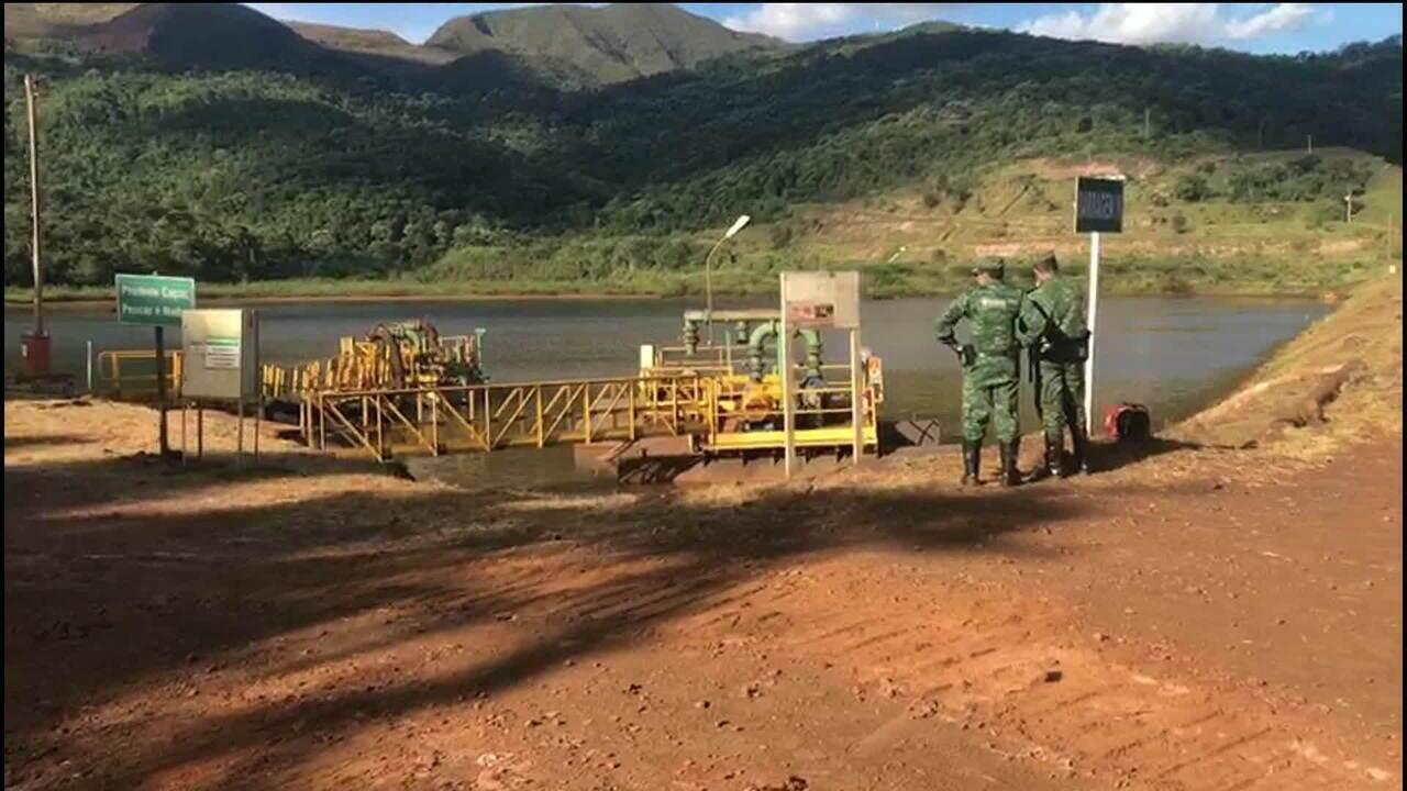 Equipe da GloboNews entra na mina Córrego do Feijão