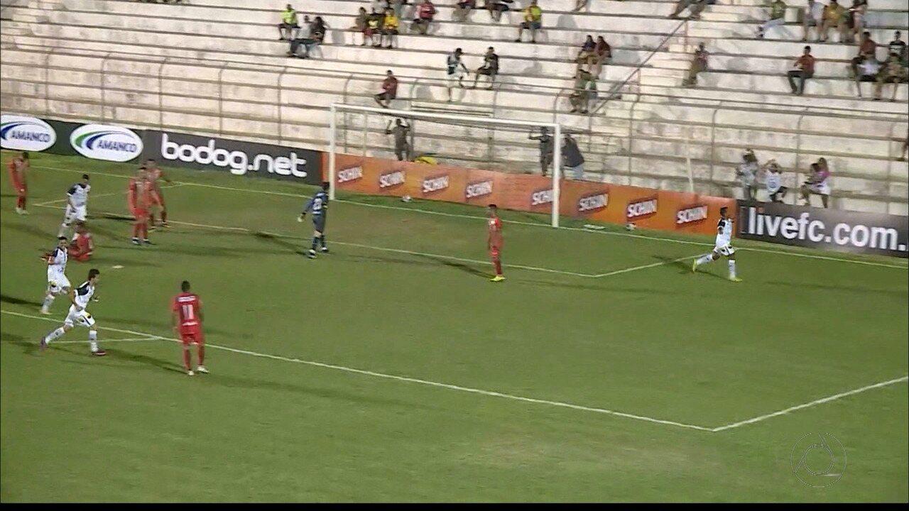 Veja como foi o empate do Belo com o Salgueiro no Estádio Cornélio de Barros