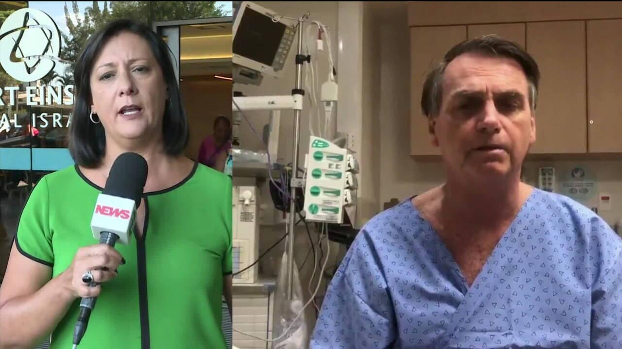 Termina a cirurgia para a retirada da bolsa de colostomia de Jair Bolsonaro