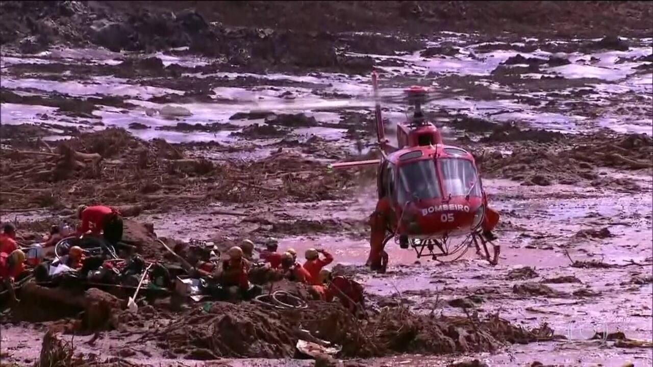 Mais quatro corpos são resgatados no quinto dia de buscas