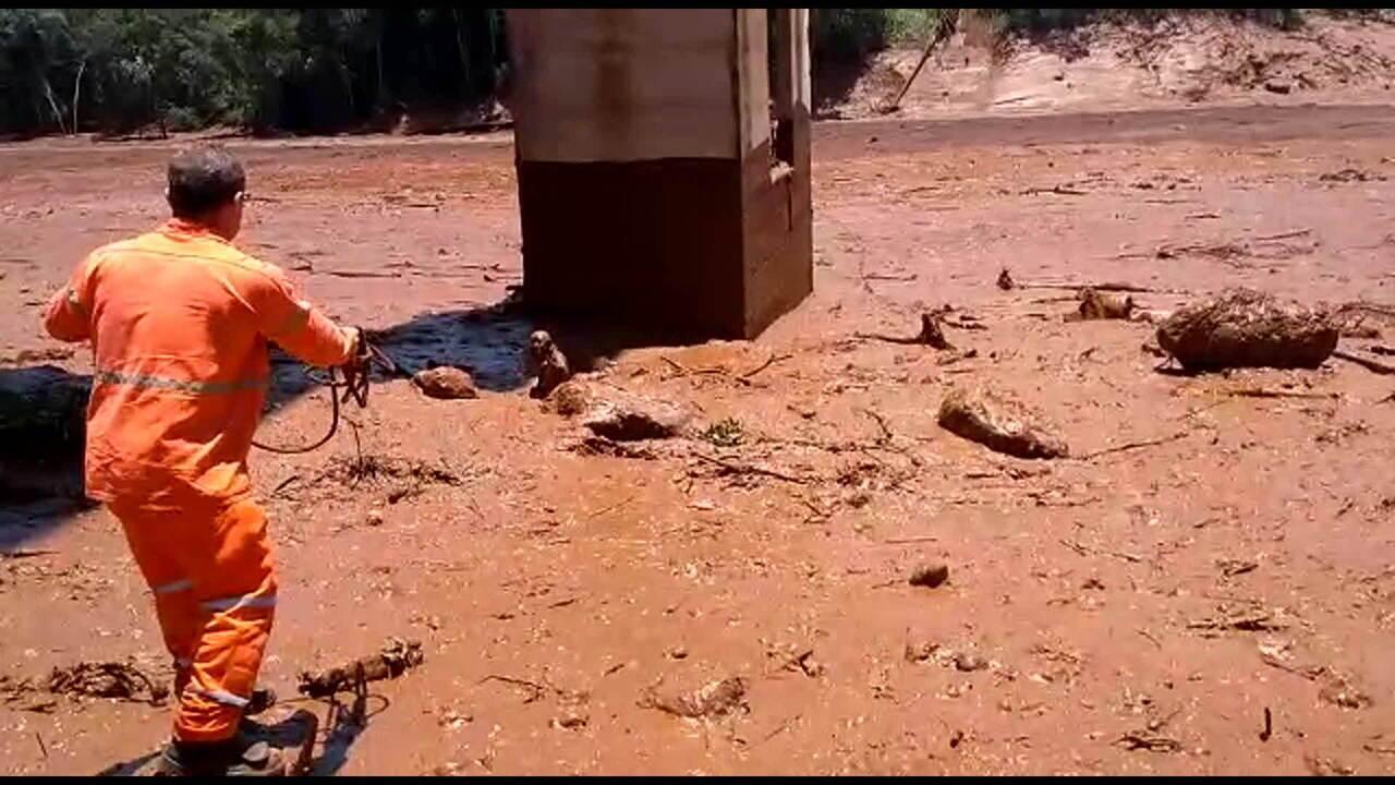 Funcionário da Vale conta como conseguiu salvar uma mulher da lama