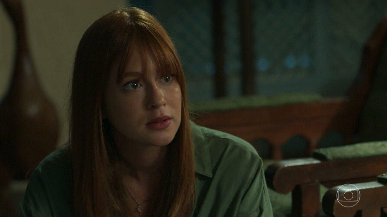 Luz afirma que vai descobrir o que está acontecendo com Gabriel