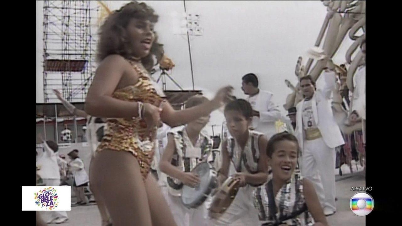 Carnaval inesquecível: madrinha da Gaviões relata emoção de desfilar com os filhos