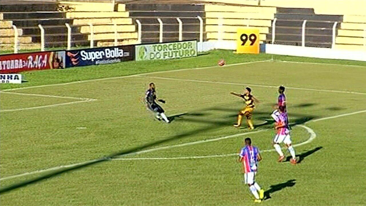Os gols da vitória do Novo Horizonte sobre o Itumbiara por 3 a 0