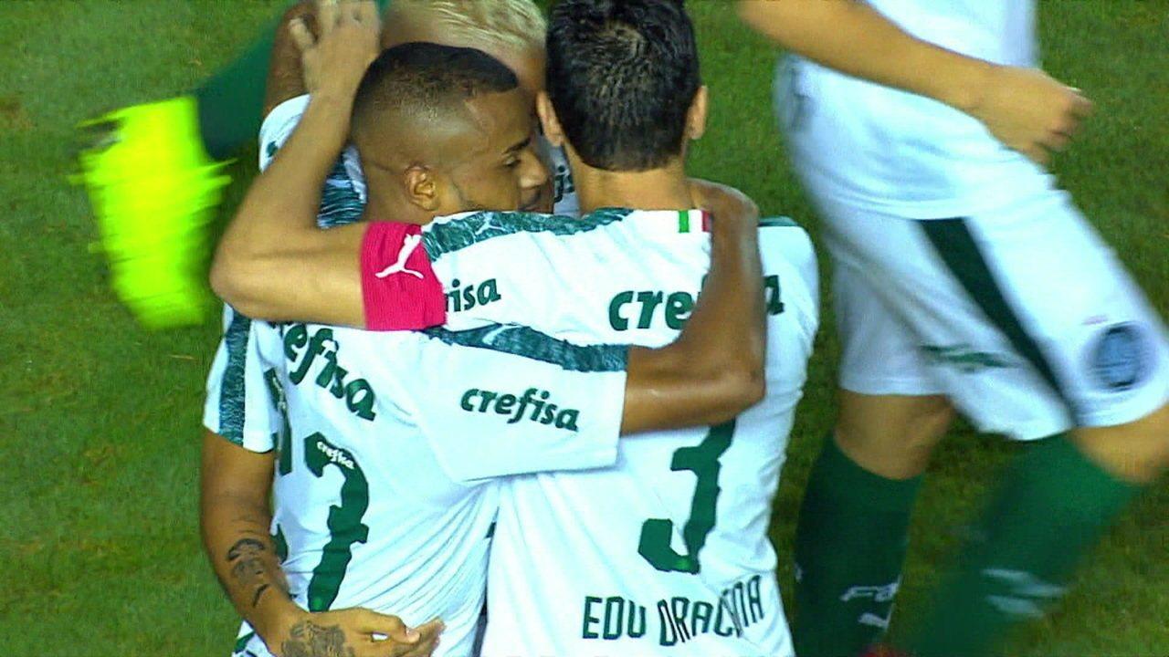 Felipe Pires balançou a rede uma vez em partida do Campeonato Paulista