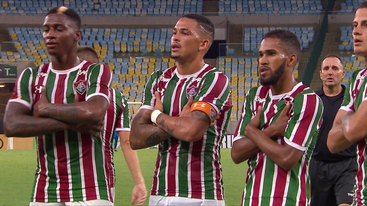 Os gols de Fluminense 4 x 0 Madureira pela 4ª rodada do Campeonato Carioca