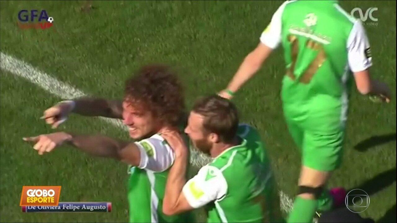 Felipe Augusto, meia brasileiro, marca golaço em Malta e sonha com Puskás