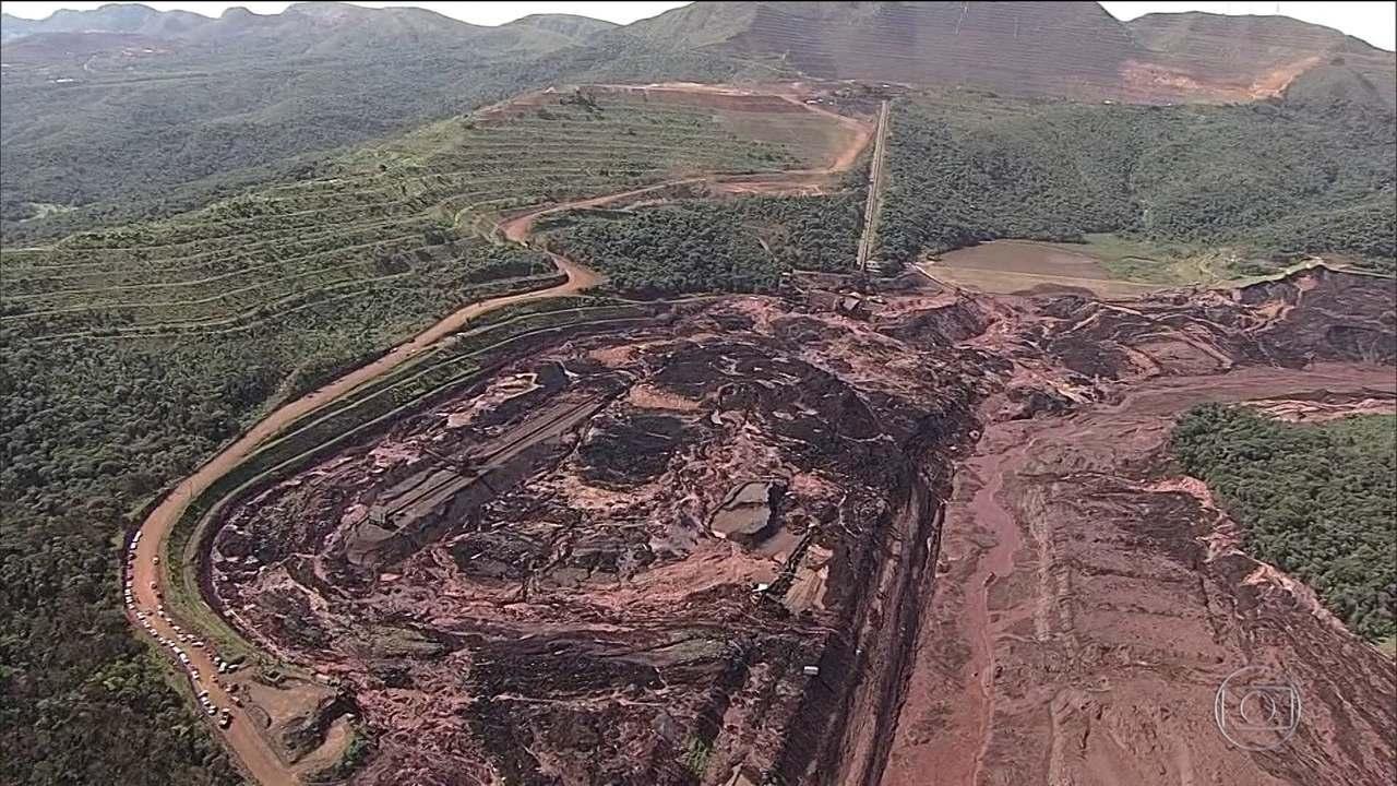 Documento da Vale previa que rompimento de barragem destruiria refeitório