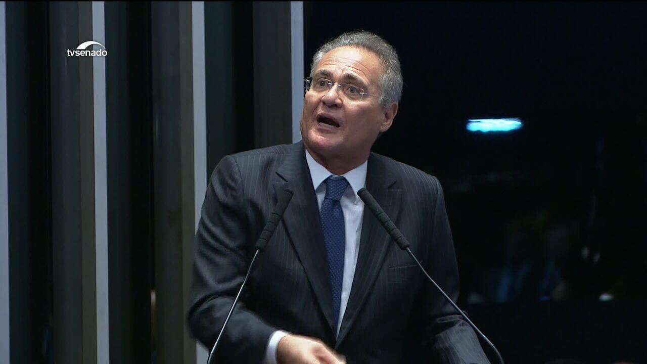 Renan Calheiros retira candidatura à presidência do Senado