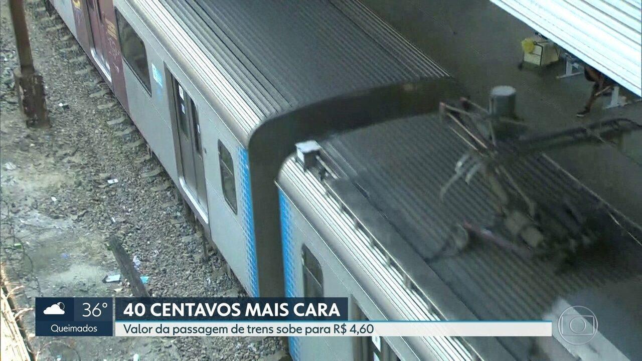 Passagem De Trem No Rj Fica Mais Cara E Passageiros Reclamam Do