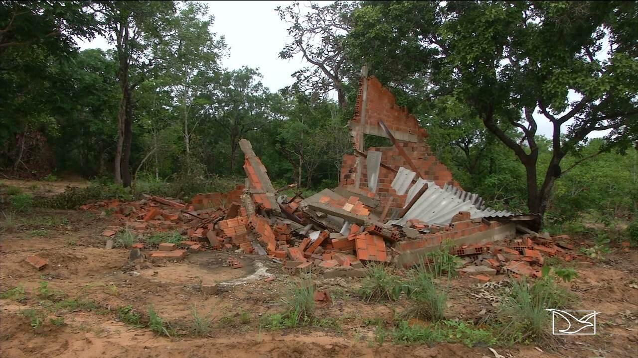 Famílias da zona rural de Balsas denunciam que estão sendo ameaçadas de despejo