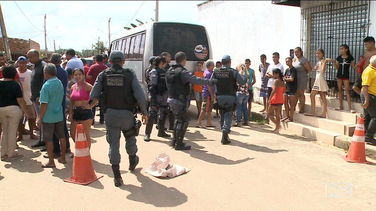 Criança é atropelada ao descer de ônibus escolar em São José de Ribamar