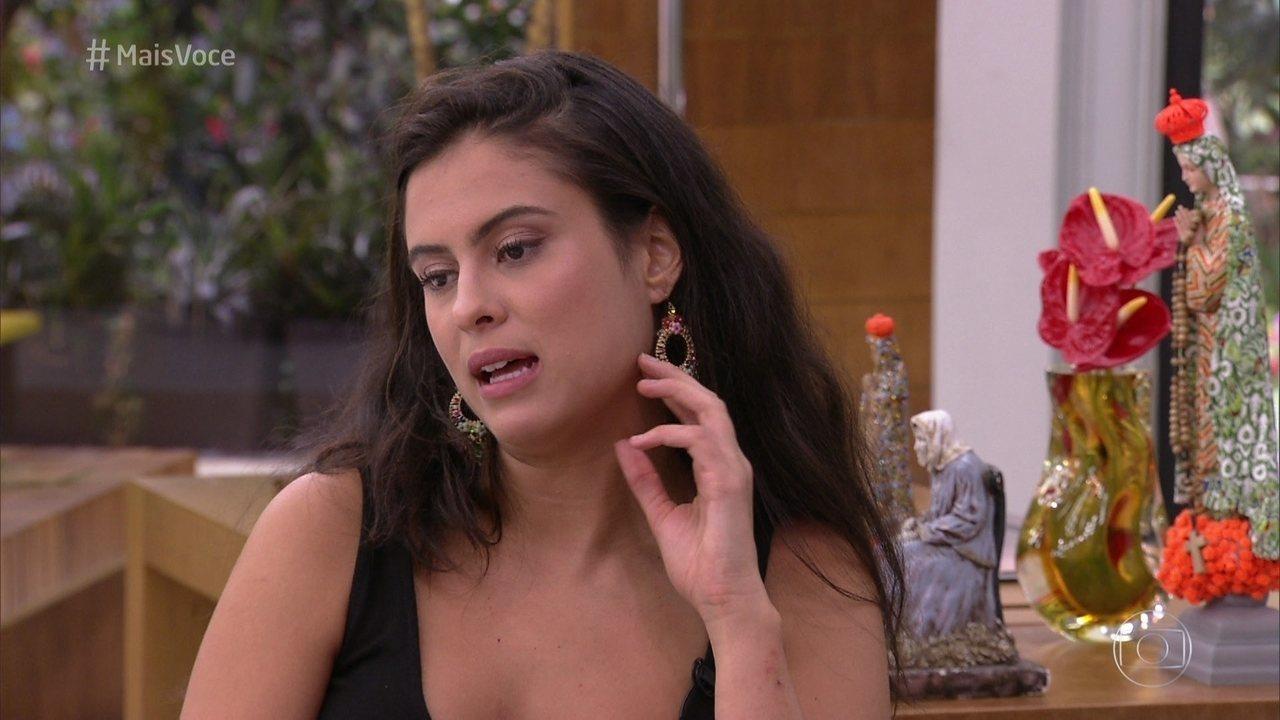 Hana fala de seu relacionamento com Alan no BBB19