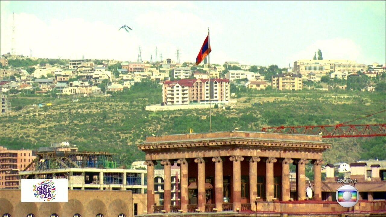 Rosas de Ouro homenageia a Armênia, país da Ásia