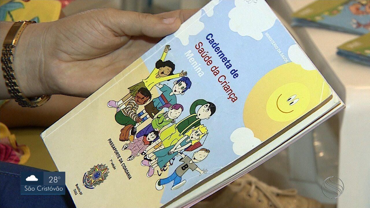 Caderneta de vacinação está em falta em Aracaju