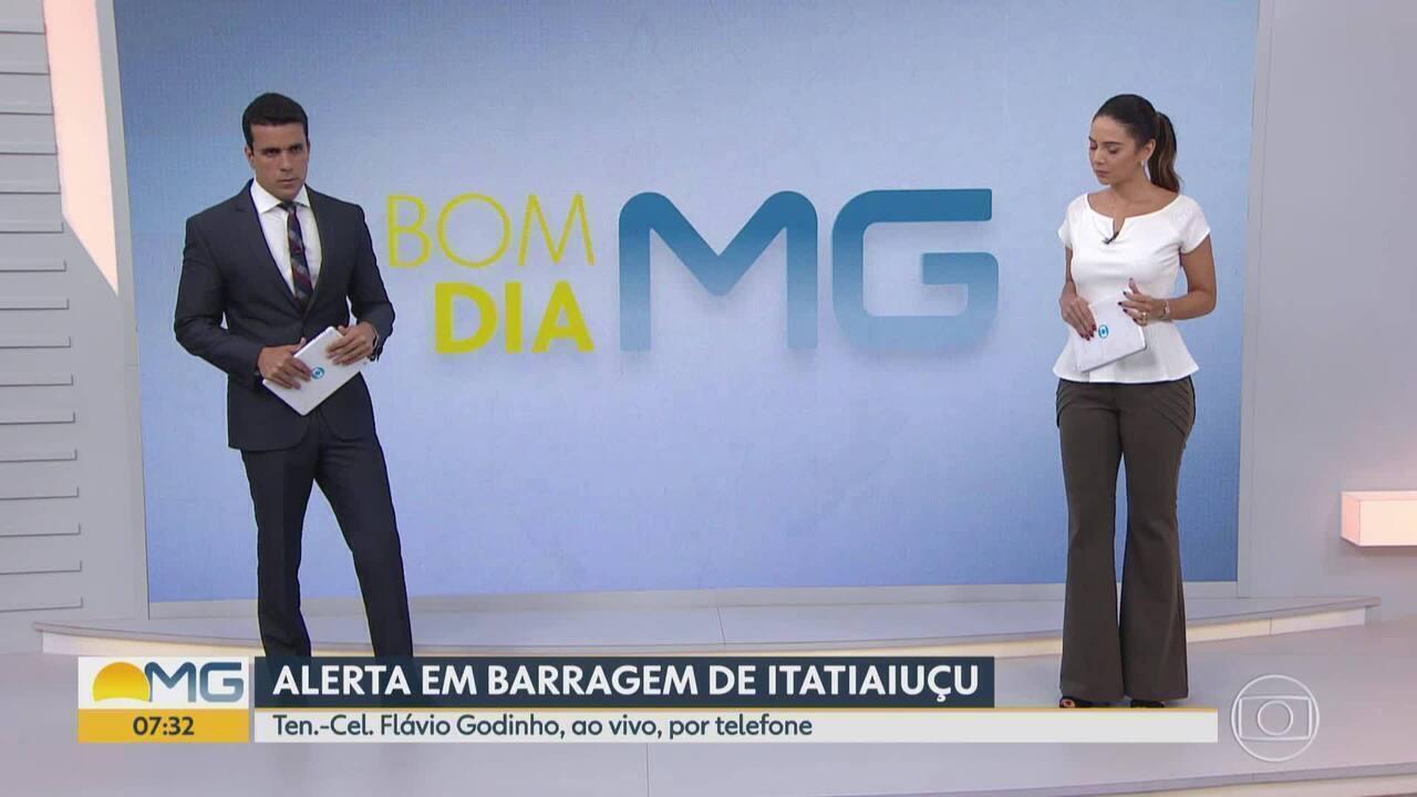 Coordenador da Defesa Civil Estadual fala sobre sirenes em Barão de Cocais e Itatiaiuçu