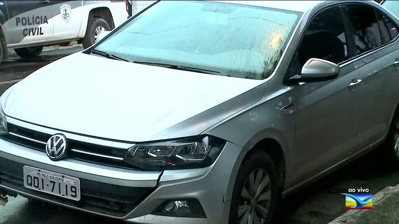 Empresário é preso com veículo com registro de roubo em Imperatriz