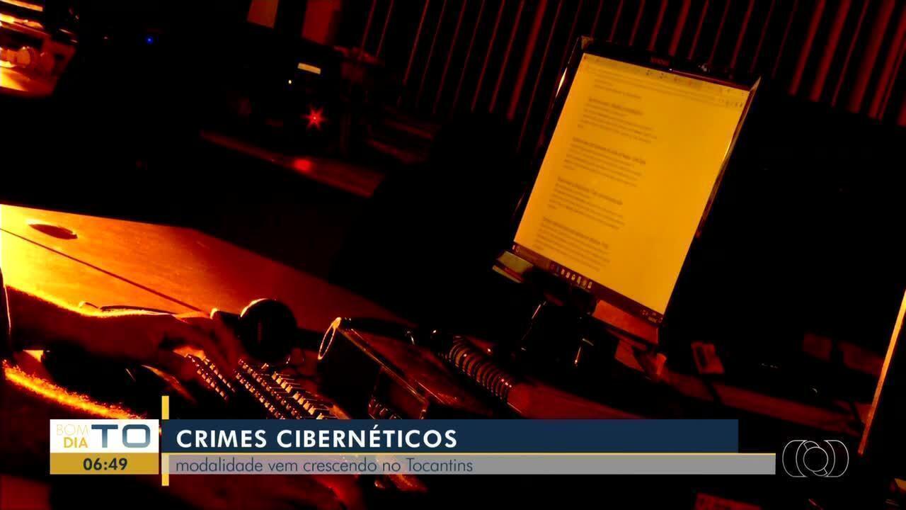 Registros de crime cibernético vem crescendo no Tocantins