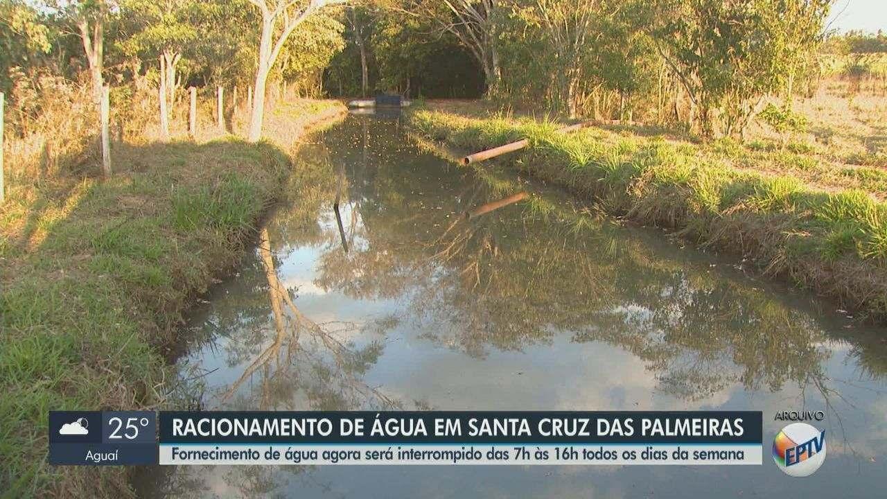 Santa Cruz das Palmeiras amplia racionamento de água por conta da falta de chuvas