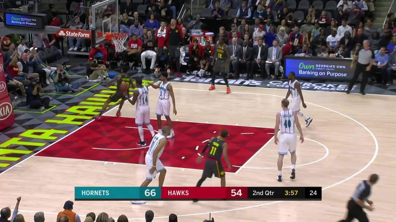 Melhores momentos: Charlotte Hornets 129 x 120 Atlanta Hawks