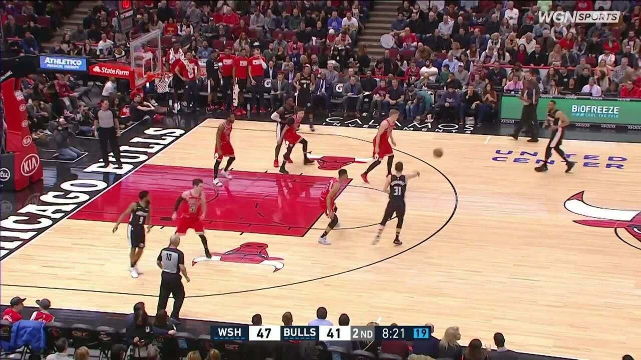 Melhores momentos: Washington Wizards 134 x 125 Chicago Bulls