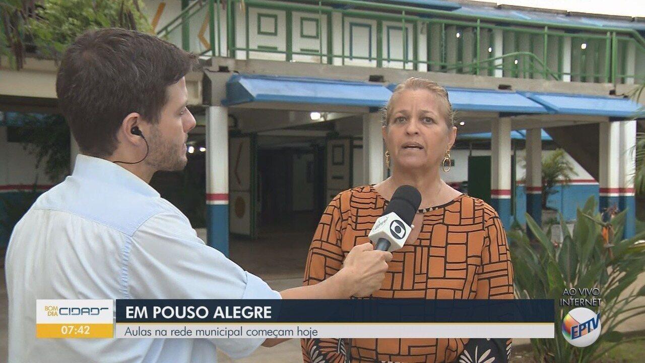 Aulas em escolas e creches municipais voltam nesta segunda-feira em Pouso Alegre, MG