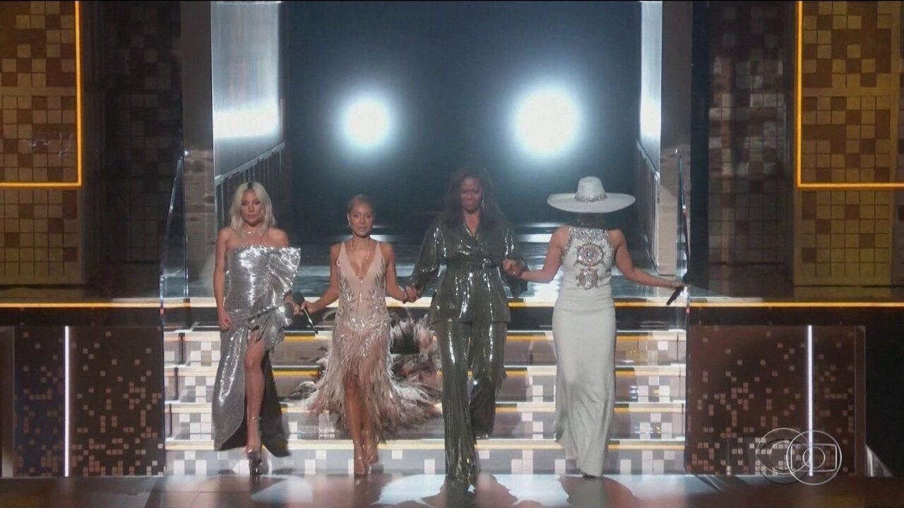 Festa do Grammy é marcada por surpresas e polêmicas