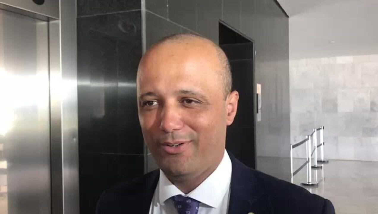 Major Vitor Hugo se reuniu com Onyx Lorenzoni no Palácio do Planalto