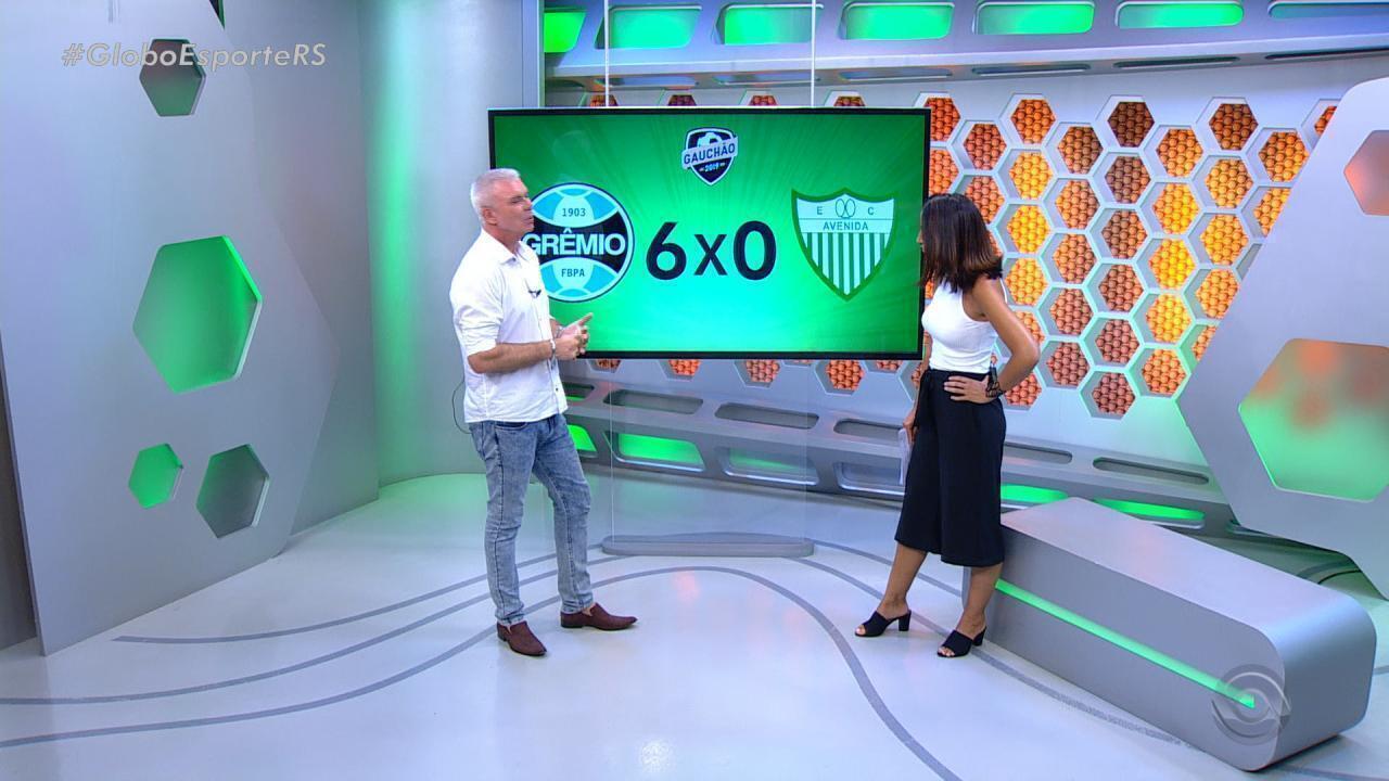 Maurício Saraiva comenta vitória do Grêmio sobre o Avenida
