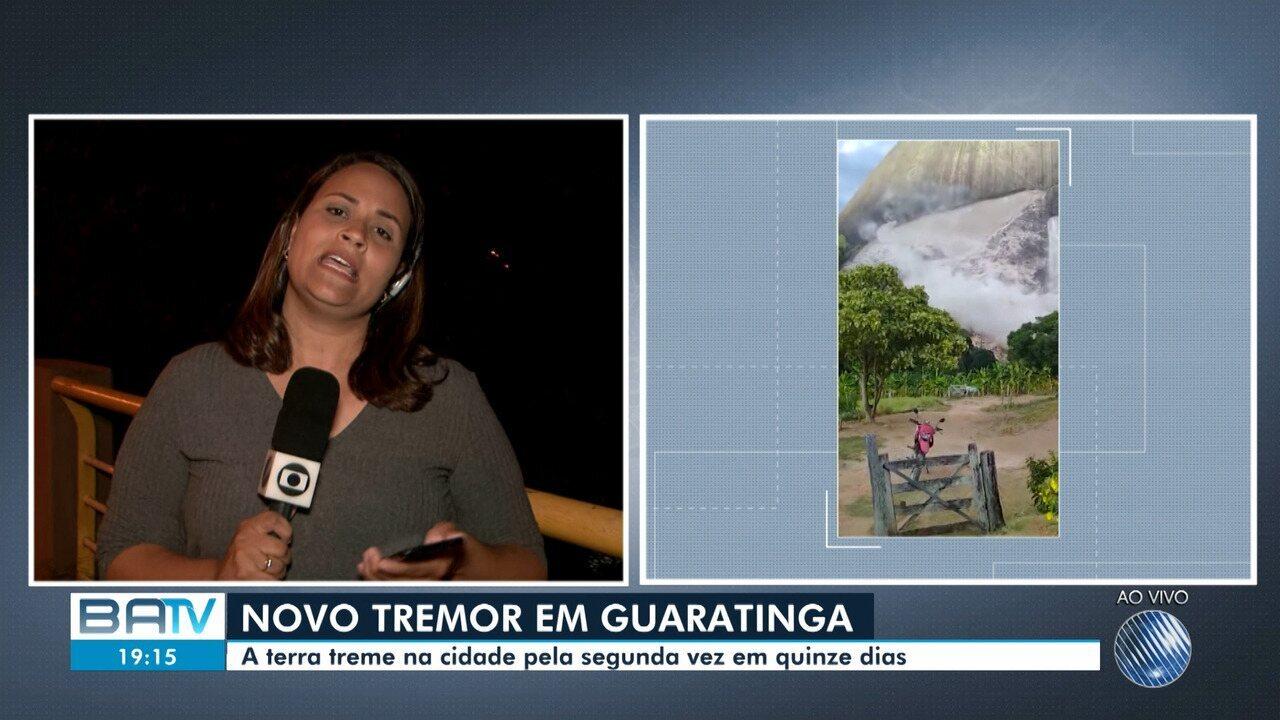 Moradores relatam novo abalo sísmico na cidade de Guarantinga, no sul do estado