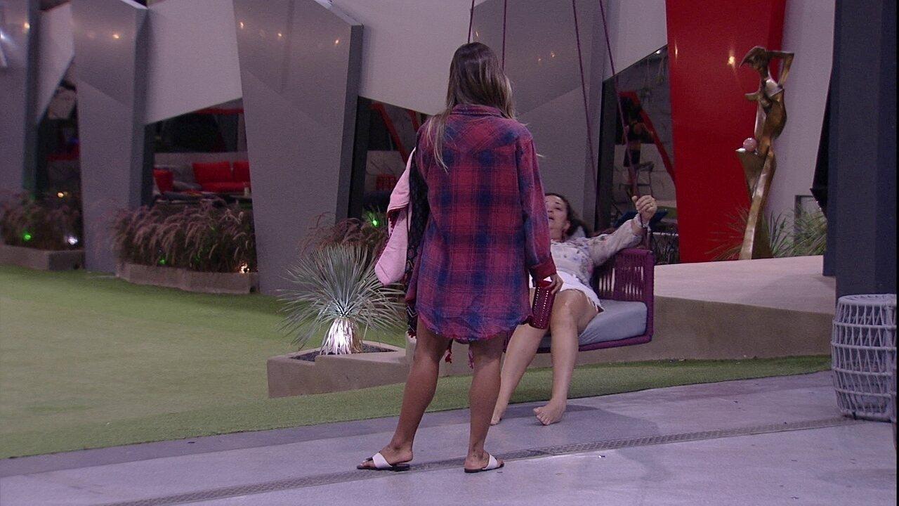 Tereza fala da atitude de Paula: 'Foi grosseira comigo. Pegou pesado'