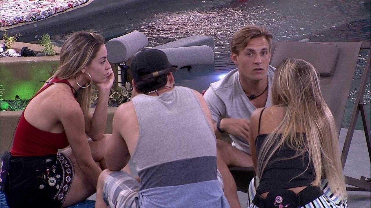 Diego fala de sister: 'Eu não to entendendo o jogo limpo dela'