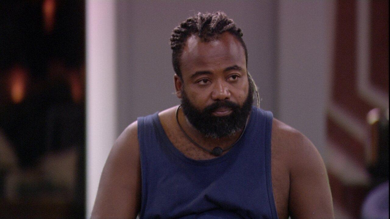 Rodrigo confessa a brothers: 'Tô na expectativa de amanhã'