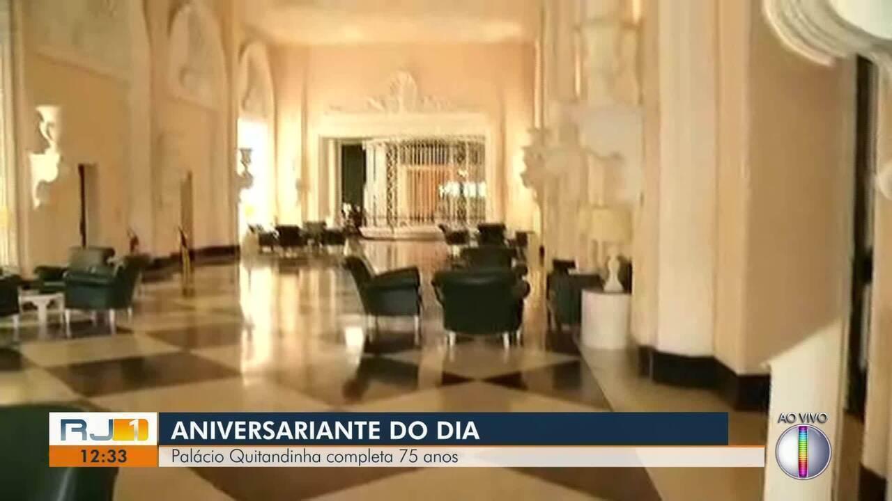 Palácio Quitandinha, em Petrópolis, RJ, completa 75 anos