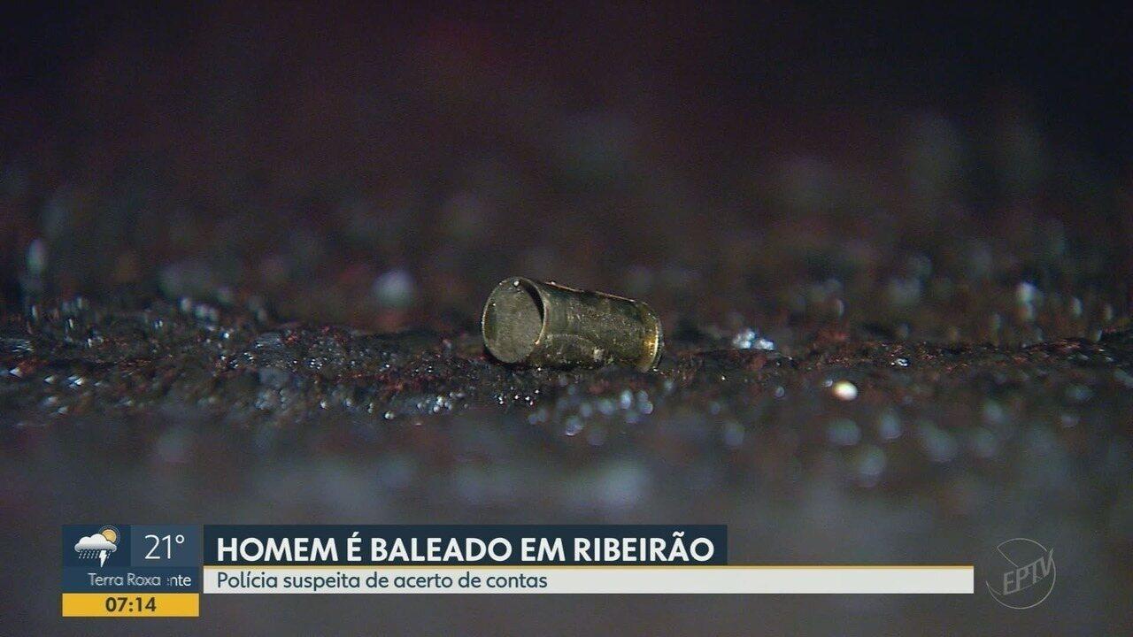 Homem é morto a tiros na zona leste de Ribeirão Preto