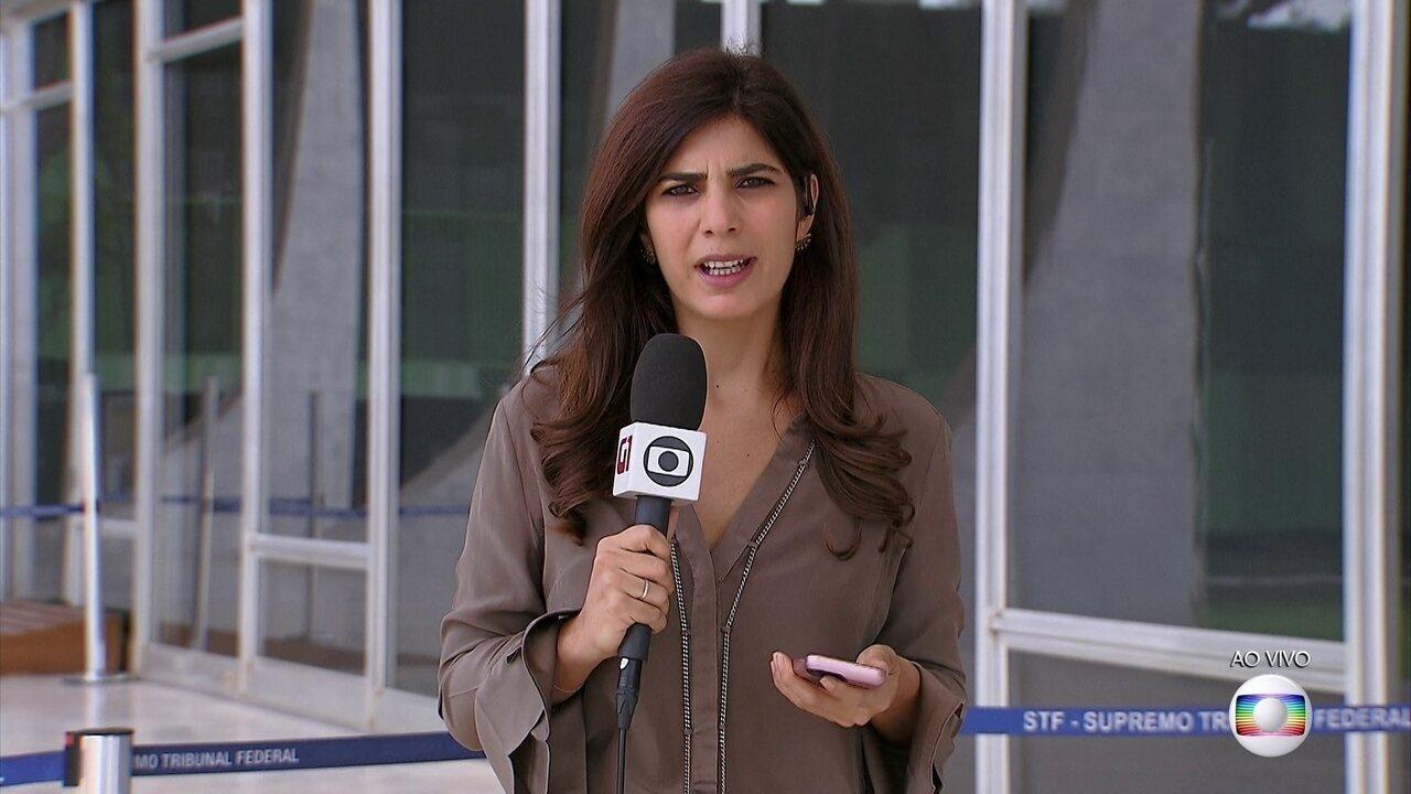 Senador Fernando Collor, do PROS de Alagoas, é interrogado no STF