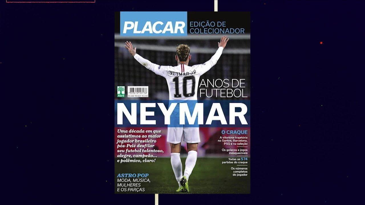 Para Revista Placar, Neymar é o maior jogador brasileiro pós Pelé