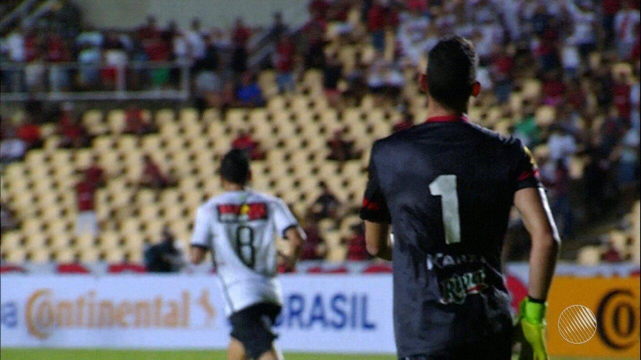 123287cf59552 Chamusca diz que emocional pesou após gol e admite atuação ruim do ...