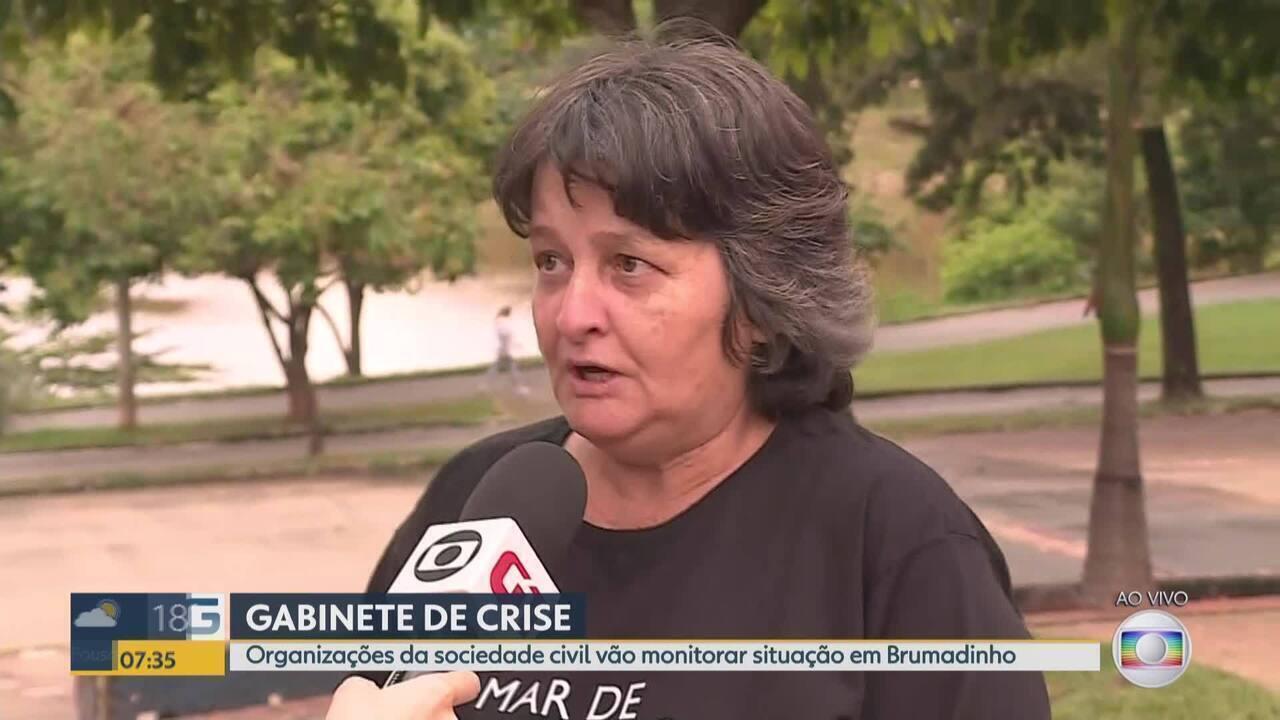 Brumadinho: ONGs criam gabinete de crise
