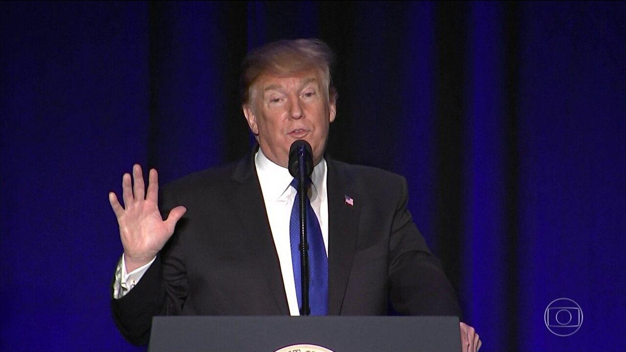 Trump deve declarar emergência nacional por conta de muro, diz Casa Branca