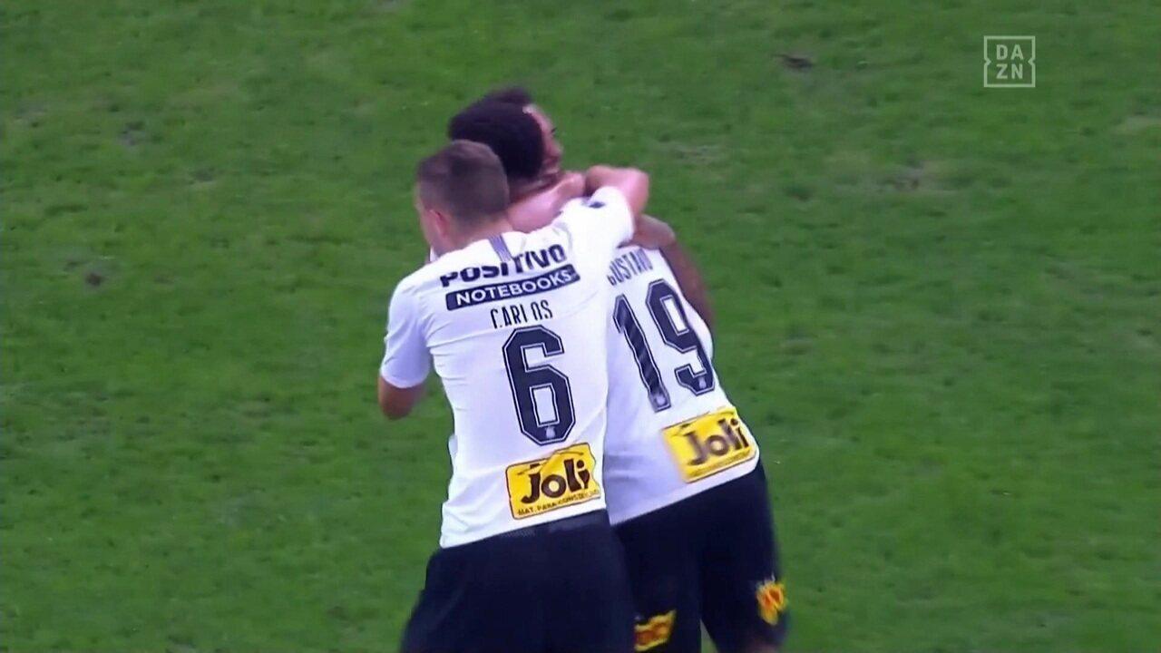Os gols de Corinthians 1 x 1 Racing pela Copa Sul-Americana