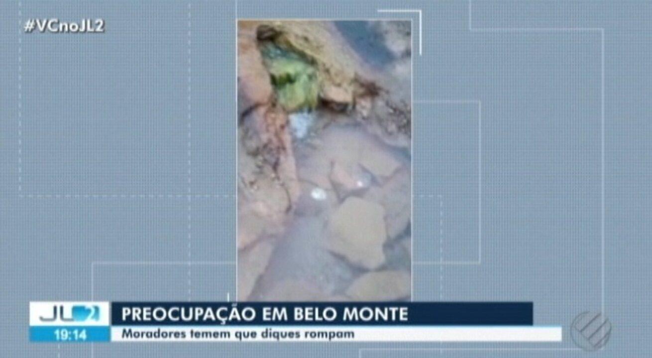 Vídeo registra escoamentos na usina de Belo Monte, no PA, e assusta moradores