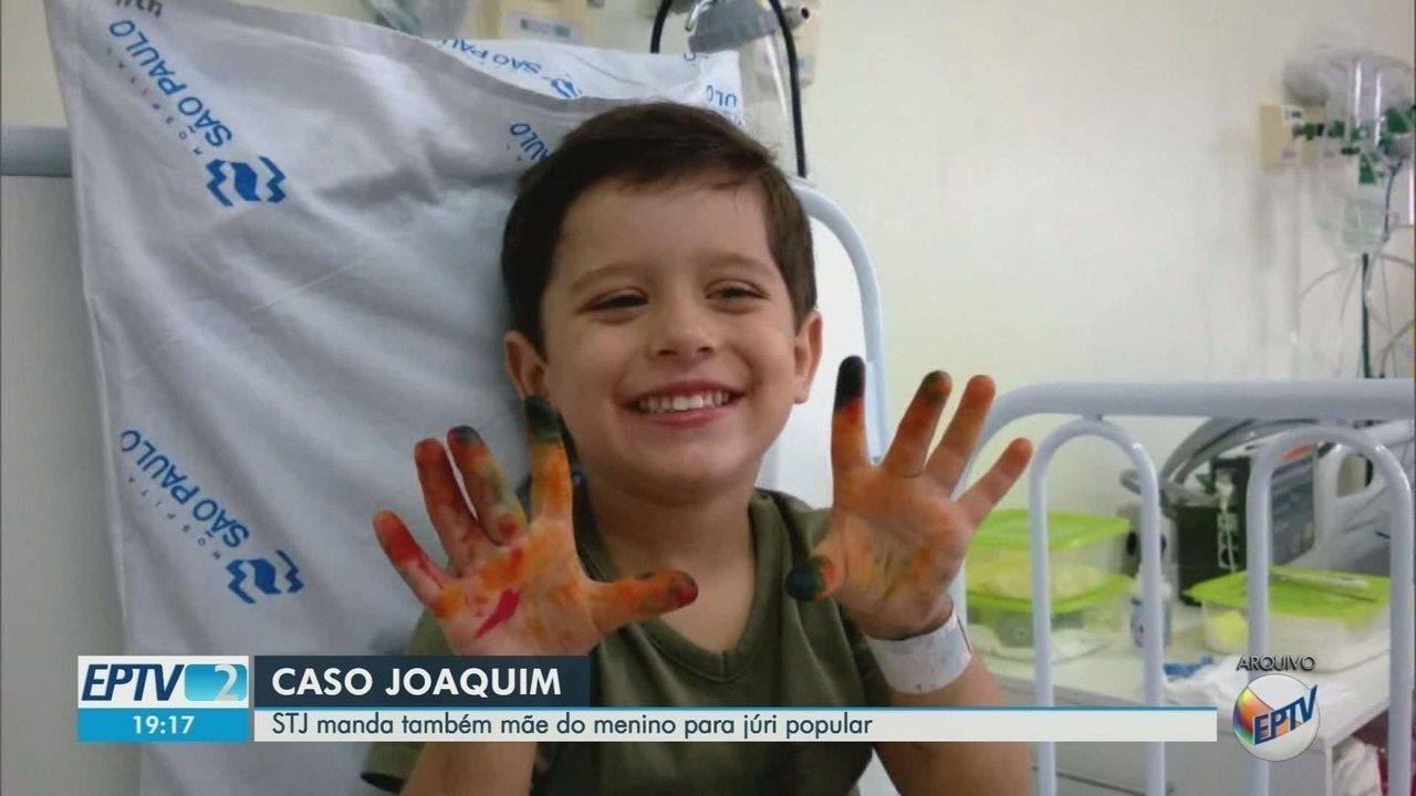 Natália Ponte, mãe de Joaquim, irá a júri popular