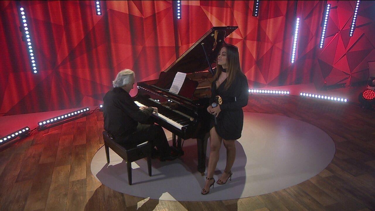 Maestro João Carlos Martins e Anitta apresentam 'Eu sei que vou te amar'