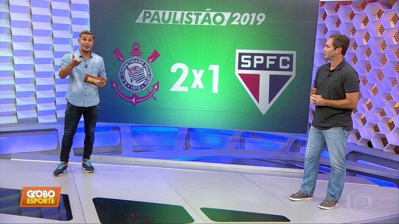 Corinthians 2 x 1 São Paulo: Caio Ribeiro analisa as polêmicas do clássico pelo Paulistão