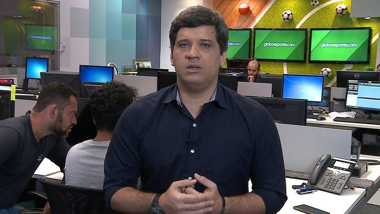 Cabral Neto fala sobre Robinho e Luiz Henrique, do Náutico