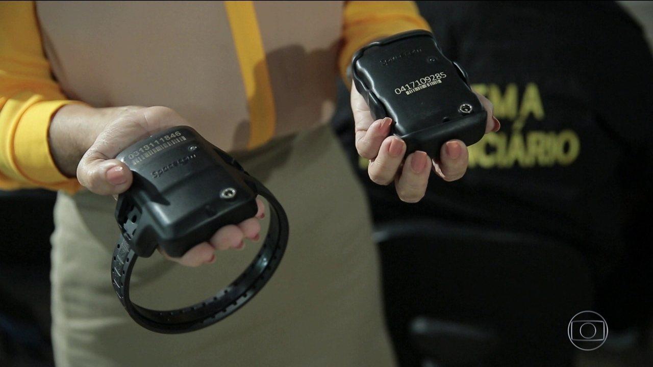 Pernambuco usa tornozeleiras eletrônicas para monitorar agressores